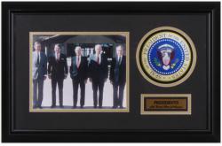 Presidents Framed Photo Collage (nixon/ford/reagan/bush/carter)