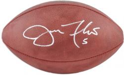 Joe Flacco Baltimore Ravens Autographed Pro Football