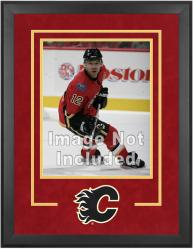 "Calgary Flames Deluxe 16"" x 20"" Vertical Photograph Frame - Mounted Memories"