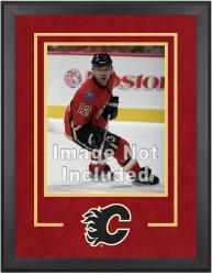 """Calgary Flames Deluxe 16"""" x 20"""" Vertical Photograph Frame"""