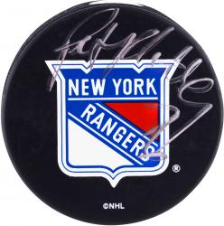 Pat Flatley New York Rangers Fanatics Authentic Autographed Puck