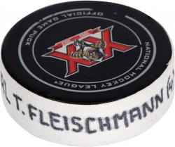 Tomas Fleischmann Florida Panthers Game Used Goal Puck vs.Winnipeg Jets 12/5/13