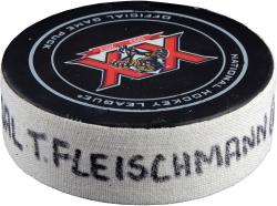 FLEISCHMANN, TOMAS (PANTHERS) GOAL PUCK (2/27/14) VS. WSH - Mounted Memories