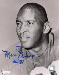 Marv Fleming Green Bay Packers Fanatics Authentic Autographed 8'' x 10'' Black and White Close Up Photograph