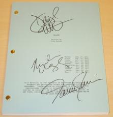 FLIGHT Autographed Full Script by Denzel Washington, Tamara Tunie, and Nadine Velazquez