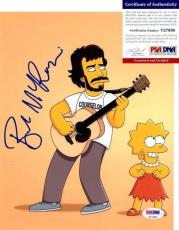 FLIGHT OF THE CONCHORDS! Bret McKenzie HOBBIT Signed THE SIMPSONS 8x10 Photo PSA