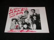 Florence Henderson Auto Signed Vintage 4x6 Photo JSA C