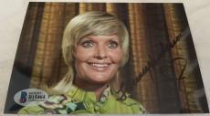 Florence Henderson Hand Signed The Brady Bunch Mom 4x6 Photo BAS COA D