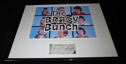 Florence Henderson Signed Framed 11x14 Photo Display Brady Bunch Carol