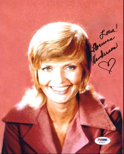Florence Henderson The Brady Bunch Signed 8X10 Photo PSA/DNA #AC45273
