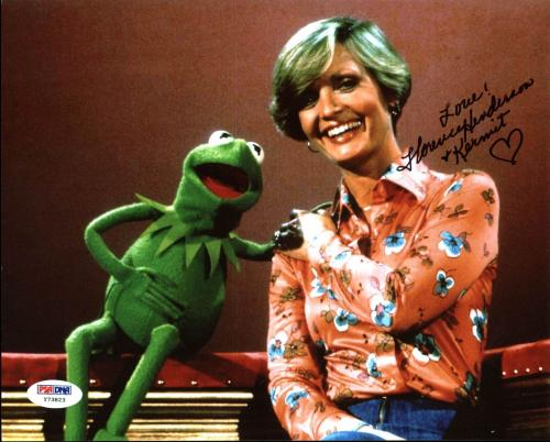 Florence Henderson The Brady Bunch Signed 8X10 Photo PSA/DNA #Y73823