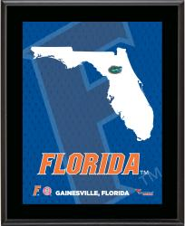 "Florida Gators Sublimated 10.5"" x 13"" State Plaque"