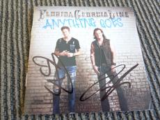 Florida Georgia Line Anything Goes Autographed Signed CD Book PSA Guaranteed