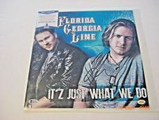 Florida Georgia Line Tyler Hubbard Brian Kelley Td/holo Signed Album Flat Photo