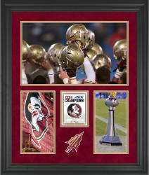 """Florida State Seminoles 2014 ACC Football Champions Framed 20"""" x 24"""" Collage"""