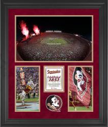 "Florida State Seminoles Doak Campbell Stadium Framed 20"" x 24"" 3-Opening Collage"