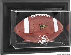 Florida State Seminoles Black Framed Wall-Mountable Football Case