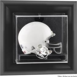 Florida State Seminoles (FSU) Black Framed (2014 - Present Logo) Wall-Mountable Mini Helmet Display Case