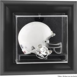 Florida State Seminoles (FSU) Black Framed (2014 - Present Logo) Wall-Mountable Mini Helmet Display Case
