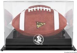 Florida State Seminoles Blackbase Football Display Case with Mirror Back