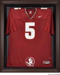 Florida State Seminoles Brown Framed Jersey Display Case