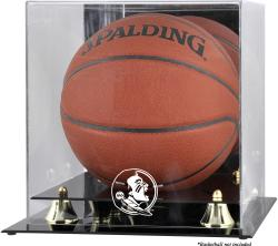 Florida State Seminoles Golden Classic Basketball Display Case with Mirror Back