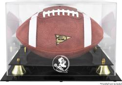 Florida State Seminoles Golden Classic Football Display Case with Mirror Back