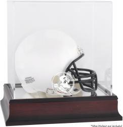 Florida State Seminoles (FSU) Mahogany (2014 - Present Logo) Mini Helmet Display Case