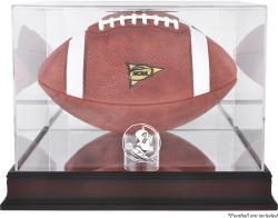 Florida State Seminoles Mahogany Base Football Case with Mirror Back