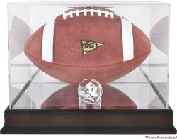 Florida State Seminoles Mahogany Base Football Case with Mirror Back