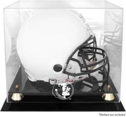 Florida State Seminoles Golden Classic Helmet Display Case with Mirrored Back