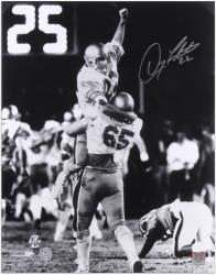 "Doug Flutie Boston College Eagles Autographed 16"" x 20"" Hail Mary Photograph - Mounted Memories"