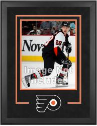 "Philadelphia Flyers Deluxe 16"" x 20"" Vertical Photograph Frame - Mounted Memories"