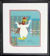 Foghorn Leghorn hand painted cell  Signed Bob Tom Charles McKimson Looney Tunes