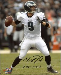 "Nick Foles Philadelphia Eagles Autographed 8"" x 10"" Photograph with 7 TD 11/3/13 Inscription"