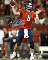 "Nick Foles Arizona Wildcats Autographed 8"" x 10"" Vertical Red Uniform Photograph"
