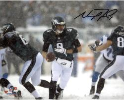 "Nick Foles Philadelphia Eagles Autographed 8"" x 10"" Horizontal Snow Photograph"