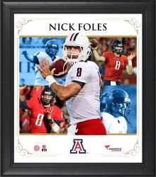 "Nick Foles Arizona Wildcats Framed 15"" x 17"" Core Composite Photograph"