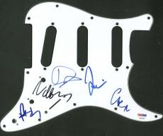 Foo Fighers Band Signed Autographed Strat Pickguard Grohl +4 PSA/DNA