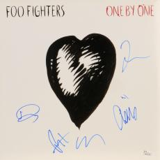 Foo Fighters Autographed One By One Album Cover - PSA/DNA COA