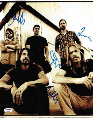 Foo Fighters Autographed Signed 11x14 Photo Certified Authentic PSA/DNA