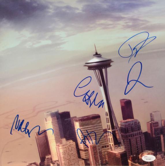 Foo Fighters Autographed Sonic Highways Album Cover - PSA/DNA COA