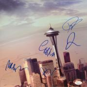 Foo Fighters Autographed Sonic Highways Album Cover - PSA/DNA COA