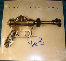 Foo Fighters Dave Grohl Signed Autograph Self-titled Debut Original Album Vinyl