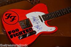 FOO FIGHTERS signed autographed guitar PSA DNA Dave Grohl Sonic Highways PROOF