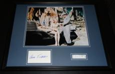 Forbidden Planet Anne Francis Leslie Nielsen Dual Signed Framed Photo Display B