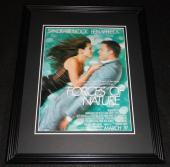 Forces of Nature 1999 Framed 11x14 ORIGINAL Advertisement Sandra Bullock Affleck