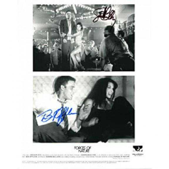"Forces of Nature"" Autographed Celebrity Black & White 8x10 Photo"