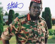 Forest Whitaker Signed 8x10 Photo w/coa The Last King Of Scotland Color of Money