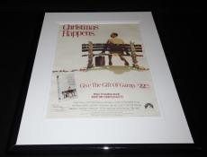 Forrest Gump 1995 11x14 Framed ORIGINAL Vintage Advertisement Tom Hanks